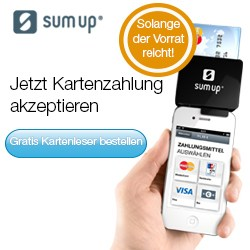 Kartenzahlung per Smartphone via sumup.de
